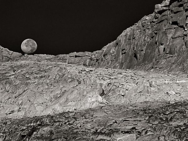 """Лунный ландшафт"", Калифорния, фото: Peter Essick"