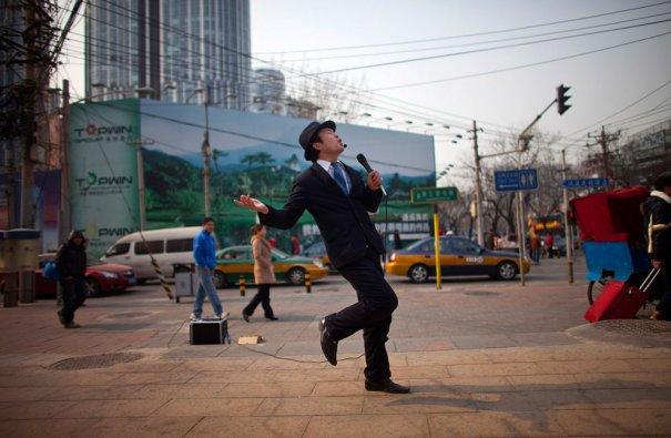 А если душа и поет у китайца, то поет на всю улицу! фото:Alexander F. Yuan
