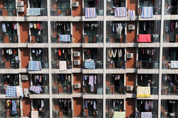 Китайское общежитие напоминает инкубатор