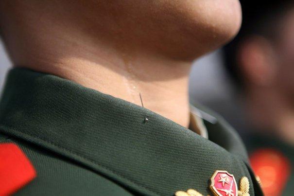 Строгая армия в Китае