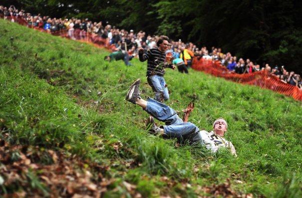 Сырные гонки, фото:BEN STANSALL