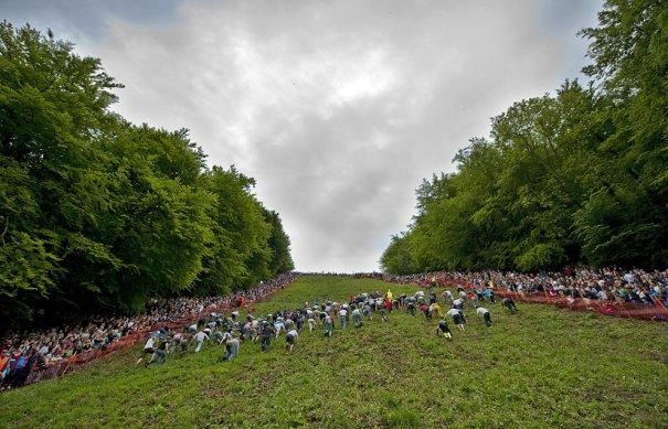 Сырные гонки, фото: Matt Cardy