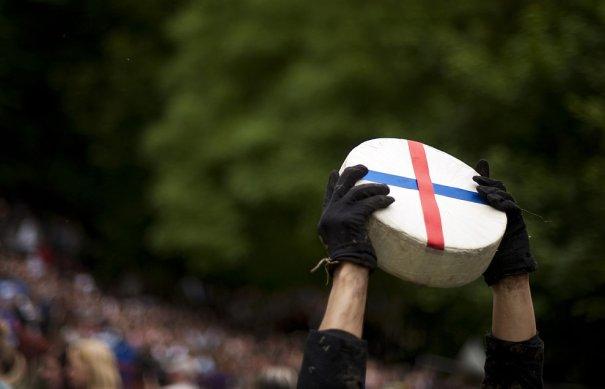 Победитель сырных гонок, фото: Matt Cardy