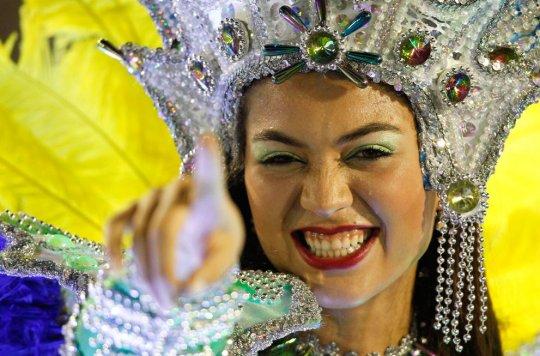 Самый зажигательный карнавал в мире!