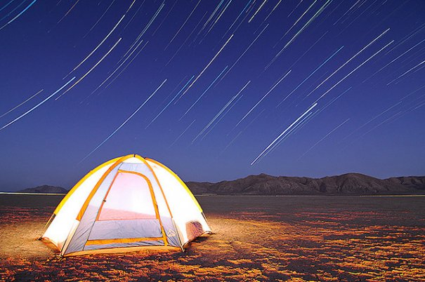 """Meteor Showers and Star Trails Blackrock Desert"", фото:Waheed Akhtar photographer"
