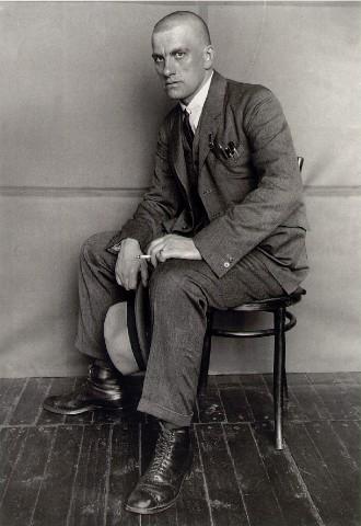 В.В. Маяковский,  1924 год