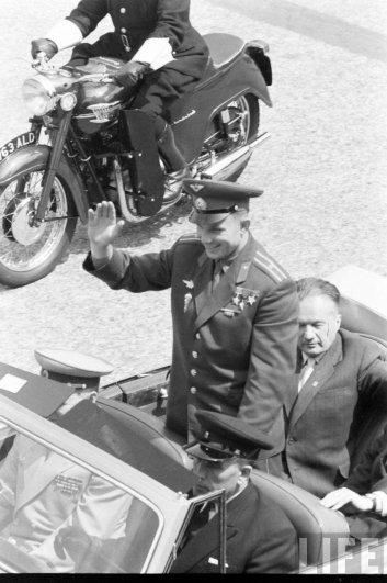 Чествование майора Юрия Алексеевича Гагарина, 14 апреля 1961 год