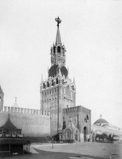 Барщевский.Спасская башня(1880-е) 19век