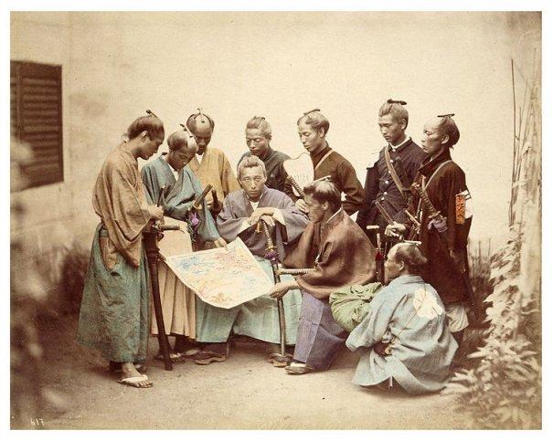 Самураи клана Сацумо в период Войны Босин, (1868—1869), Феликс Беато