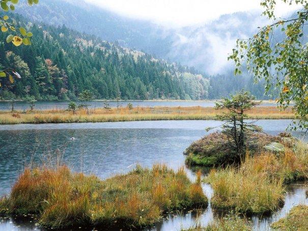 """Озеро Кимзее или """"баварское море"""""""