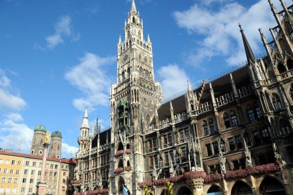Бавария, Мюнхен, церковь Святого Петра