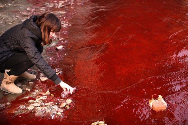 г. Люяньг, Китай, День воды - 2012.