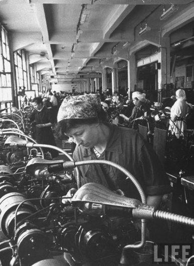 Текстильная фабрика, г. Москва, СССР, 1956 год