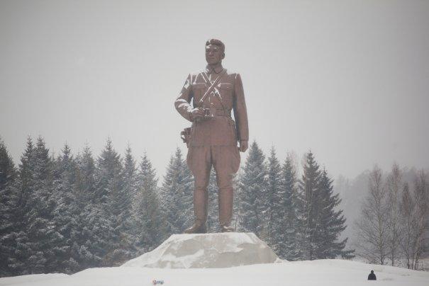 Памятник Ким Ир Сену, Самджион, Северная Корея