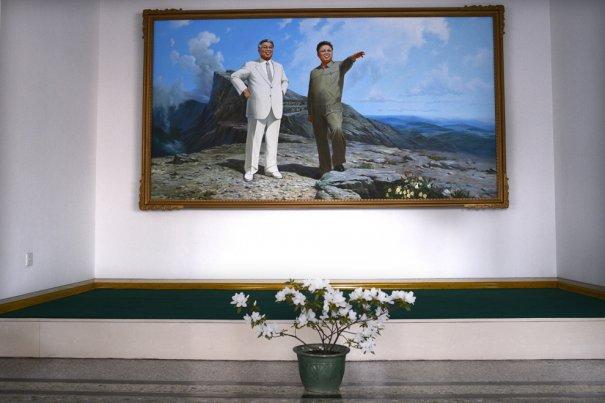 Вожди Северной Кореи - Кем Ир Сен старший и Ким Ир Сен старший