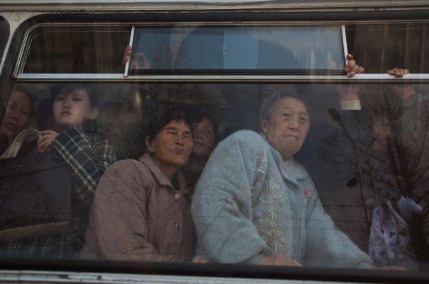 2012 год, Северная Корея, общественный транспорт.