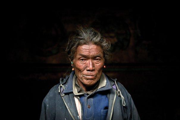 Жители Мустанга представляют собой касту Лоба, монастырь в Тетанге, фото: Тэйлор Вэйдман