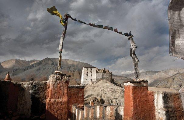 Заброшенный дворец короля Мустанга в Таранге, фото: Тэйлор Вэйдман