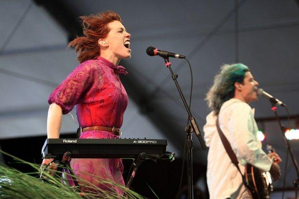 Ханна Хупер, группа Grouplove, фото: David McNew