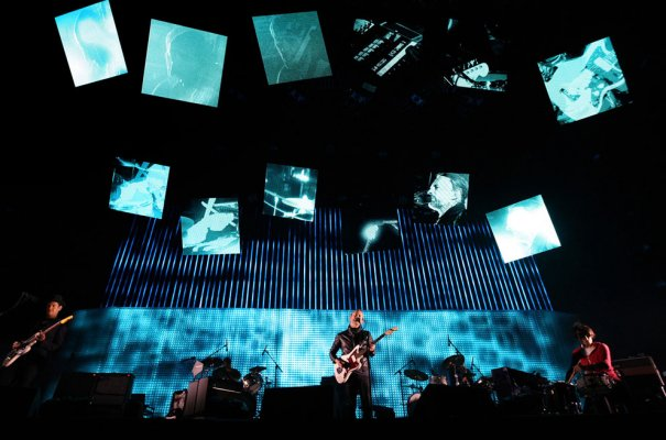 Выступление группы Radiohead, фото: David McNew