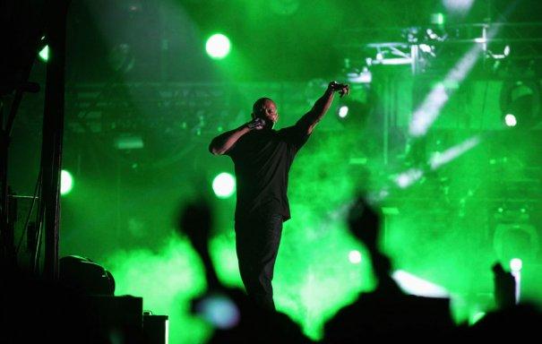 Выступление рэппера  Dr.Dre, фото: David McNew