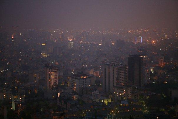 Вечерний Тегеран..