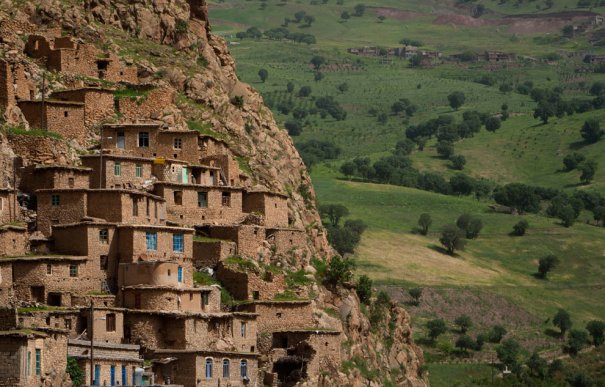 Деревня Паланган , на юго-западе Ирана, фото: Morteza Nikoubazl