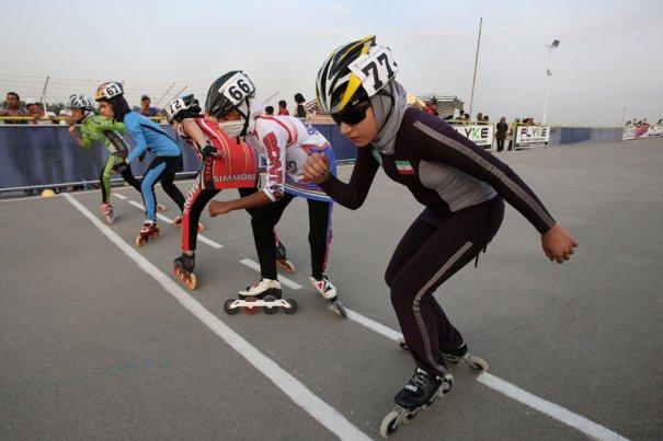 """Соревнование за звание """"Роллер-2011"""", фото: Vahid Salemi"""