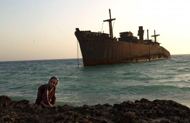 Побережье острова Киш, находится остров в 1250 км к югу от Тегерана, фото: Caren Firouz