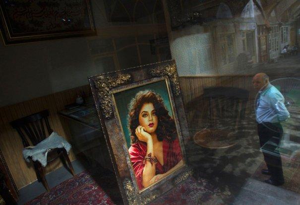 Антикварный магазин Табриза, фото: Morteza Nikoubazl