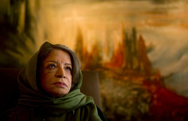 Знаменитая Иранская художница Дарроуди, фото: Caren Firouz