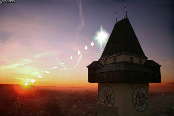 Как правильно фотографировать Солнце и Луну? - №1
