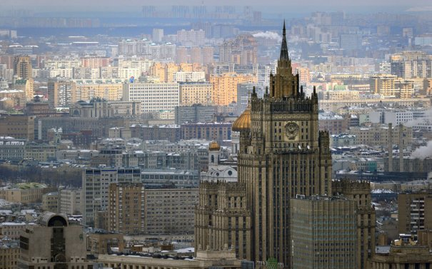 Штаб-квартира министерства иностранных дел РФ, Москва, фотограф: Александр Неменов