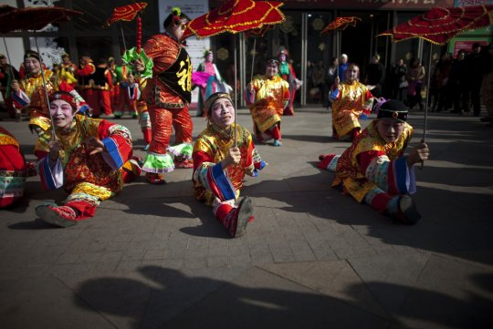 На торговой площади.Пекин (фото:Alexander F. Yuan)