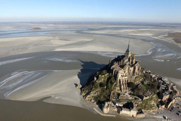 Замок Мон-Сель -Мишель, западная Франция, фотограф: Kenzo Tribouillard