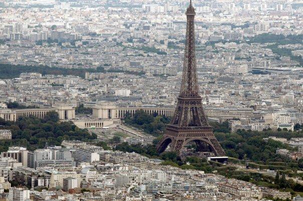 Эйфелева Башня. Утренний Париж, Франция, фотограф: Charles Platiau