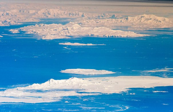 Вид на Южные Шетландские острова и часть Антарктики, фотограф: