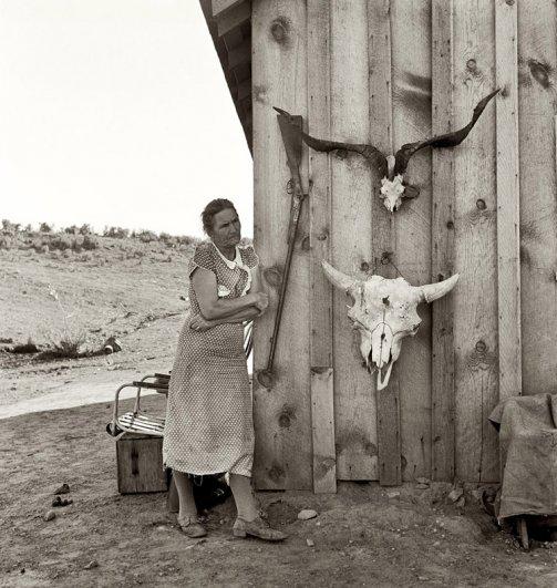 Орегон ( октябрь, 1936 г.), фотограф: Доротея Ланж