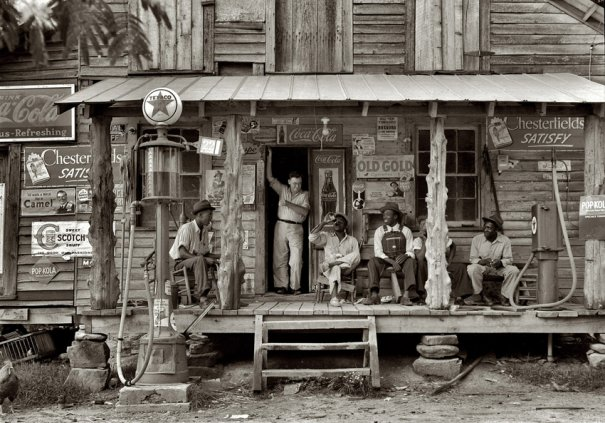 Гордонтон, воскресный день (июль, 1939 г.), фотограф: Доротея Ланж