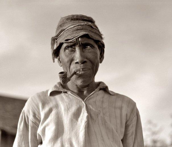Сборщик хлопка ( июль, 1937 г.), фотограф: Доротея Ланж