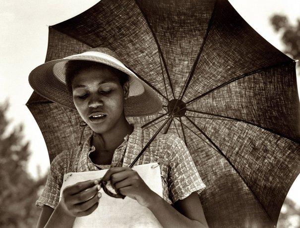 Негритянка из Луизианы ( июль, 1937 г.), фотограф: Доротея Ланж