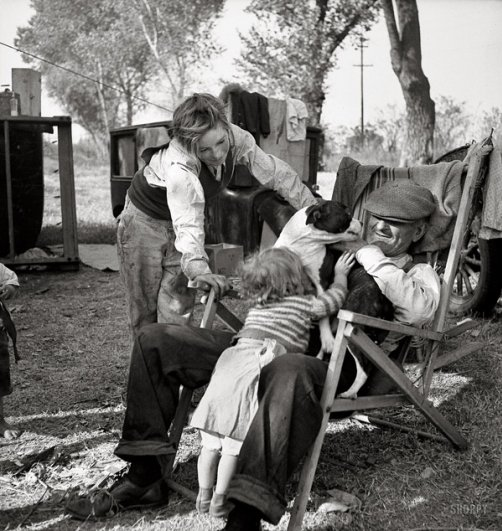 4 ноября 1936, фотограф: Доротея Ланж