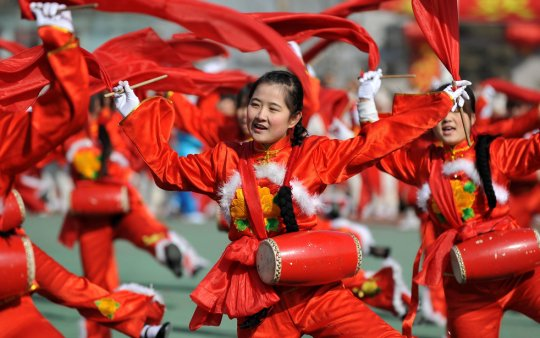 Яньань, северо-запад Китая (фото:Qi Xiaojun)