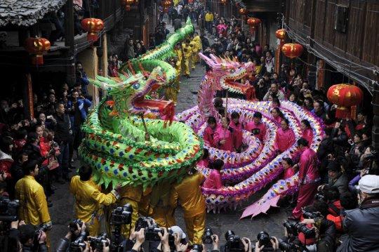 Танец Дракона, Гуйджоу, Китай