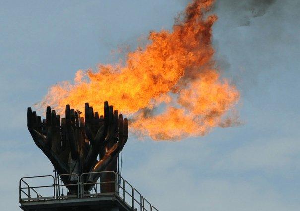 Горение газа, фото: Pius Utomi Ekpei