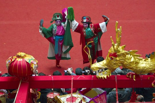 Кукольный театр  (фото:Alexander F. Yuan)