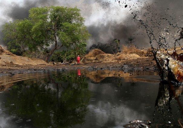 Дельта реки Нигер, Порт Харкорт, Нигерия, фотограф: Afolabi Sotunde