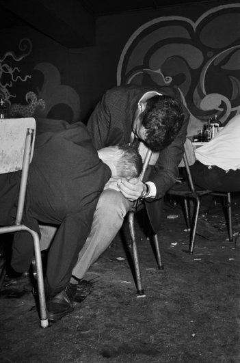 """Серия фотографий  """"Катакомбы"""", октябрь, 1968 год"""