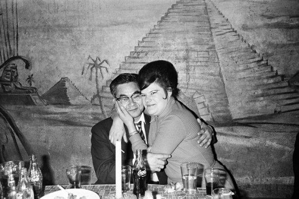"""Серия фотографий  """"Катакомбы"""", 1967 год"""
