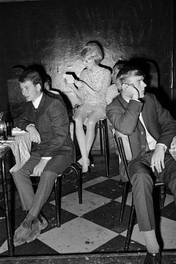 """Серия фотографий  """"Катакомбы"""", февраль, 1968 год"""